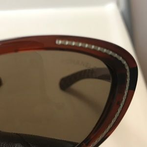 7d06cb2016 CHANEL Accessories - Chanel Sunglasses 6039 Like New Brown